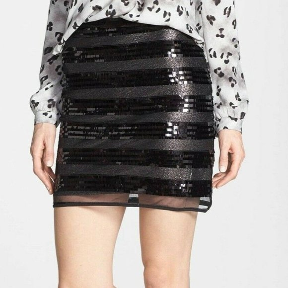 New MINKPINK S Sequin Eyes On The Prize Skirt